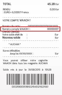 Carte Accord Auchan Compte Waaoh.Questions Frequentes Sur La Prime Eco Energie Auchan