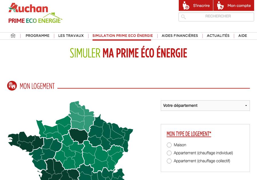 Simulez Le Montant De Votre Prime Eco Energie Avec Auchan