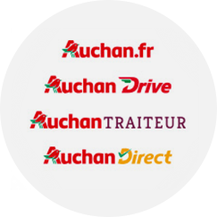 Auchan.fr AuchanDrive AuchanTraiteur AuchanDirect